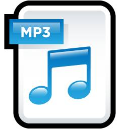Icon for MP3 file